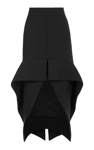 Medium maticevski black phenomenal cocktail skirt