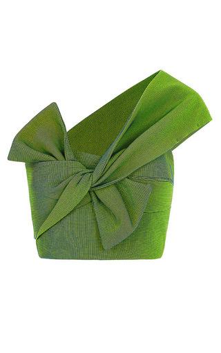 Medium maticevski green spring green bouquet knot bodice