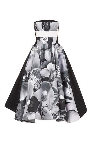 Medium maticevski metallic maxillaria cocktail dress