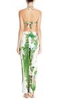 Orchids Linen Pants by AGUA DE COCO for Preorder on Moda Operandi