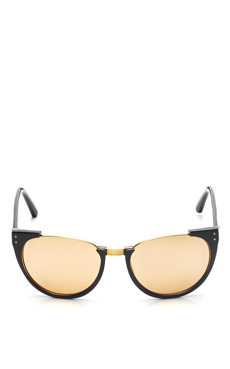 cf99eb5c74 Linda FarrowD-Frame Acetate Sunglasses. CLOSE. Loading