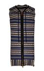 Cotton Pointelle Knit Hooded Dickey by VERONICA BEARD Now Available on Moda Operandi