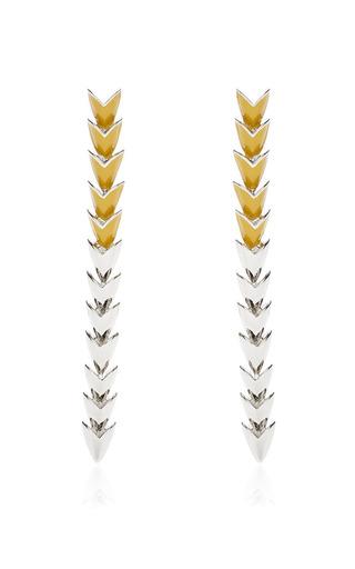 Medium eddie borgo yellow scaled earring 3