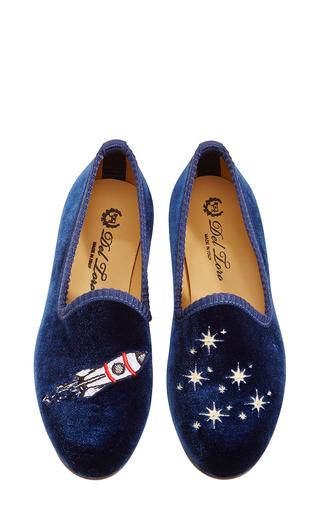 Medium del toro blue rocket ship childrens slippers