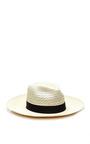 Valdez White Palmar Fedora by VALDEZ PANAMA HATS for Preorder on Moda Operandi
