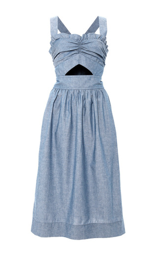 Medium jill stuart blue melda dress