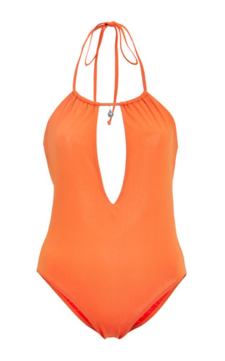 Medium roxana salehoun red roxana salehoun halter strap one piece