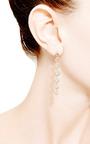 Lisa Michelle Earrings In 14 K Rose Gold by DANA REBECCA DESIGNS for Preorder on Moda Operandi