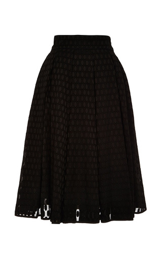 Medium lena hoschek black burundi skirt