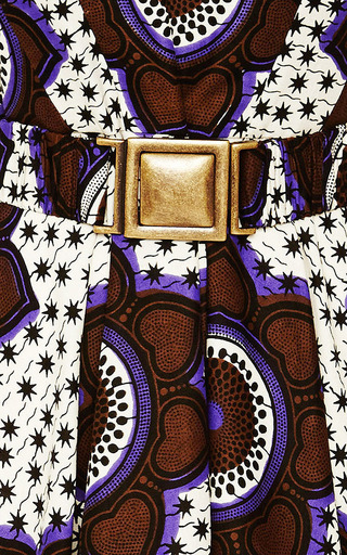 Chocolate Stars Makeba Dress by LENA HOSCHEK for Preorder on Moda Operandi