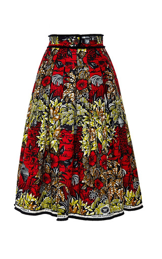 Congo Skirt by LENA HOSCHEK Now Available on Moda Operandi