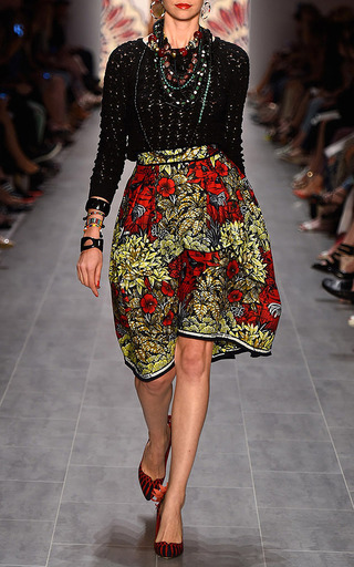 Congo Skirt by LENA HOSCHEK Now Available on Moda Operandi
