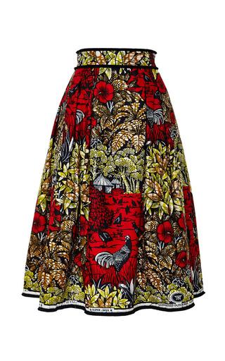 Medium lena hoschek print congo skirt