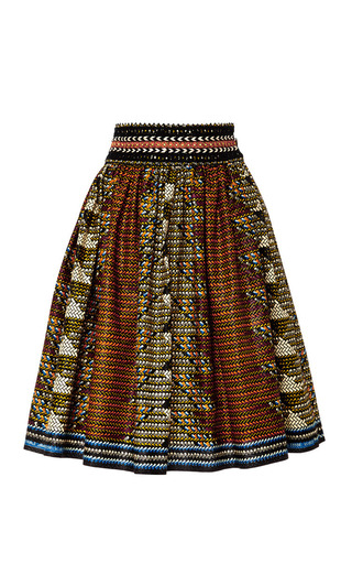 Ethiopia Skirt by LENA HOSCHEK Now Available on Moda Operandi