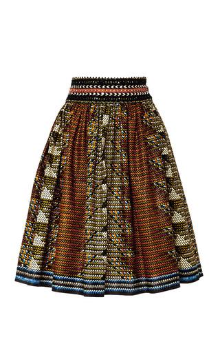 Medium lena hoschek print ethiopia skirt