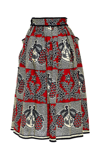 Kinshasa Skirt by LENA HOSCHEK Now Available on Moda Operandi