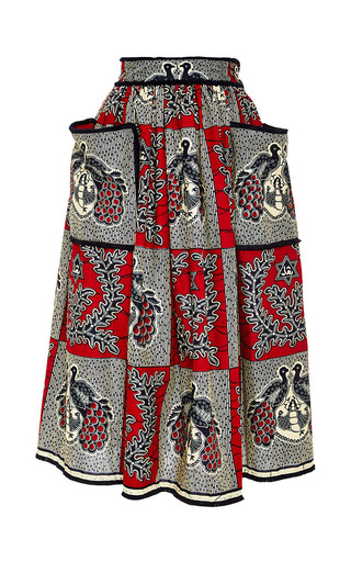 Medium lena hoschek print kinshasa skirt
