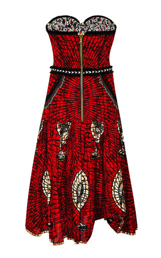 Pata Pata Dress by LENA HOSCHEK Now Available on Moda Operandi