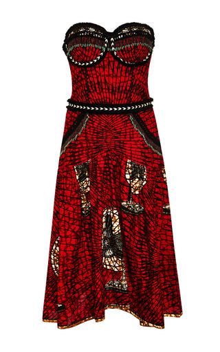 Medium lena hoschek red pata pata dress