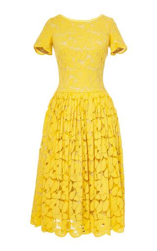 Medium lena hoschek yellow swazi dress