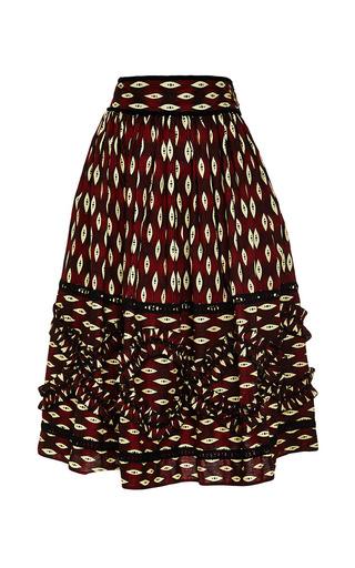 Zimbabwe Skirt by LENA HOSCHEK Now Available on Moda Operandi