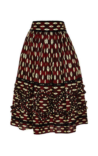 Medium lena hoschek print zimbabwe skirt