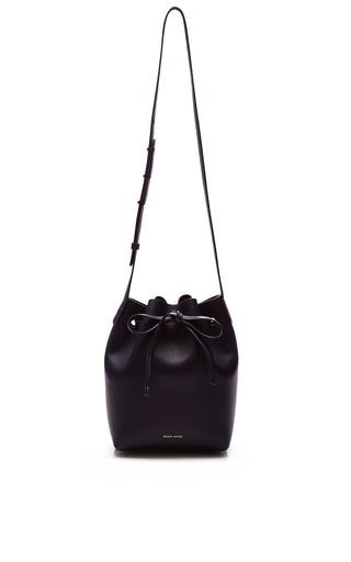 c001747a2f88 Mansur GavrielMini Bucket Bag In Blu with Blu Interior