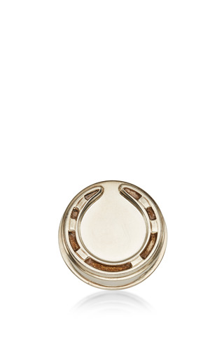 Hermes Sterling Horse Shoe Pill Box by FOUNDWELL Now Available on Moda Operandi