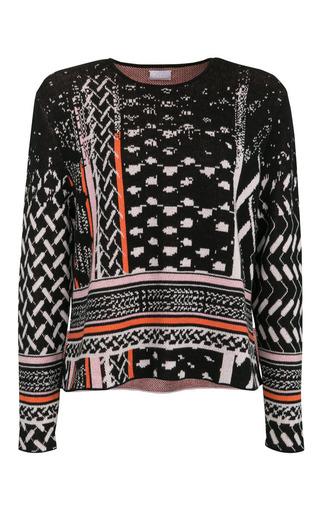 Medium lala berlin print manon jumper in black