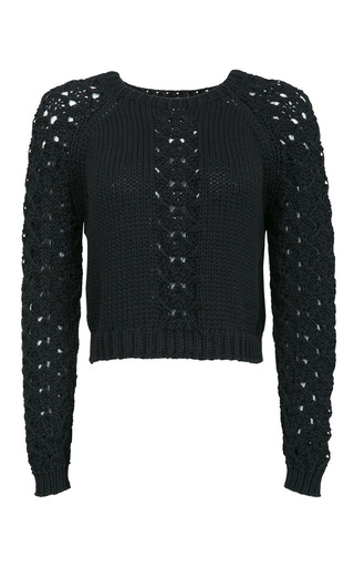 Medium lala berlin black dara jumper