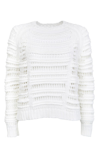 Medium lala berlin white aemelia jumper