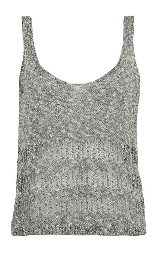 Medium lala berlin white edie tank top