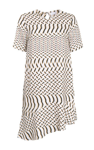 Medium lala berlin print abiah dynamic twill dress