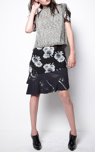 Leticia Dunes Skirt by LALA BERLIN Now Available on Moda Operandi