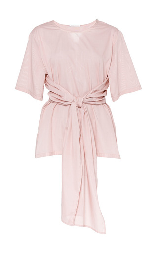 Hao Blouse In Compact Rose by PERRET SCHAAD Now Available on Moda Operandi