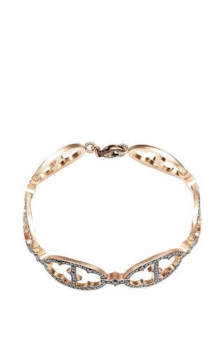 Art Deco Diamond Link Bracelet by SYLVA & CIE for Preorder on Moda Operandi