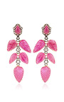 One Of A Kind Old European Cut Earrings by SYLVA & CIE for Preorder on Moda Operandi