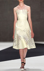 Target Dress In Cosmic Latte by IOANA CIOLACU Now Available on Moda Operandi
