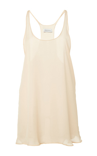 Medium ioana ciolacu white catch tank top