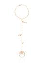 Diamond And Ruby Princess Bracelet by SYDNEY EVAN for Preorder on Moda Operandi