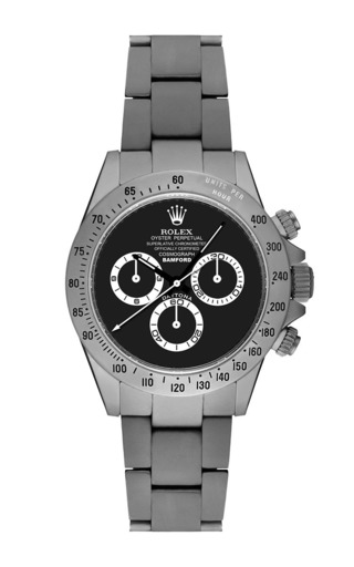Medium bamford watches dark grey matte daytona with grey and black dial