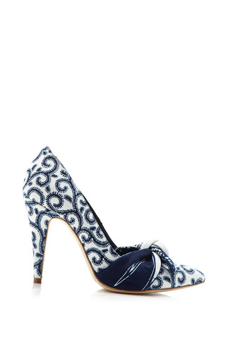 Mogadishu Pumps by LENA HOSCHEK for Preorder on Moda Operandi