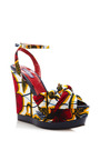 Togo Wedges by LENA HOSCHEK for Preorder on Moda Operandi