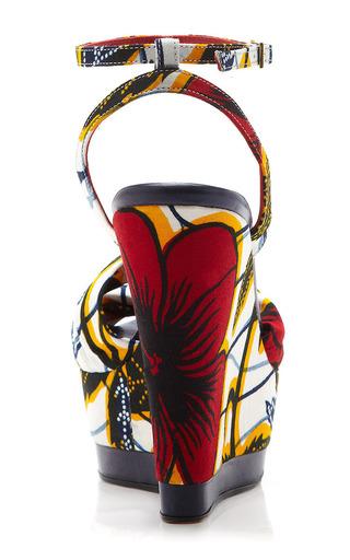 Togo Wedges by LENA HOSCHEK for Preorder on Moda Operandi