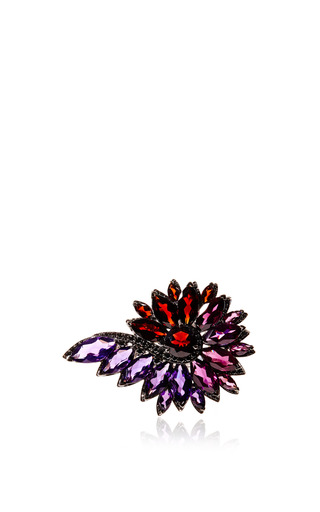 Medium stephen webster red magnipheasant feathers cocktail ring