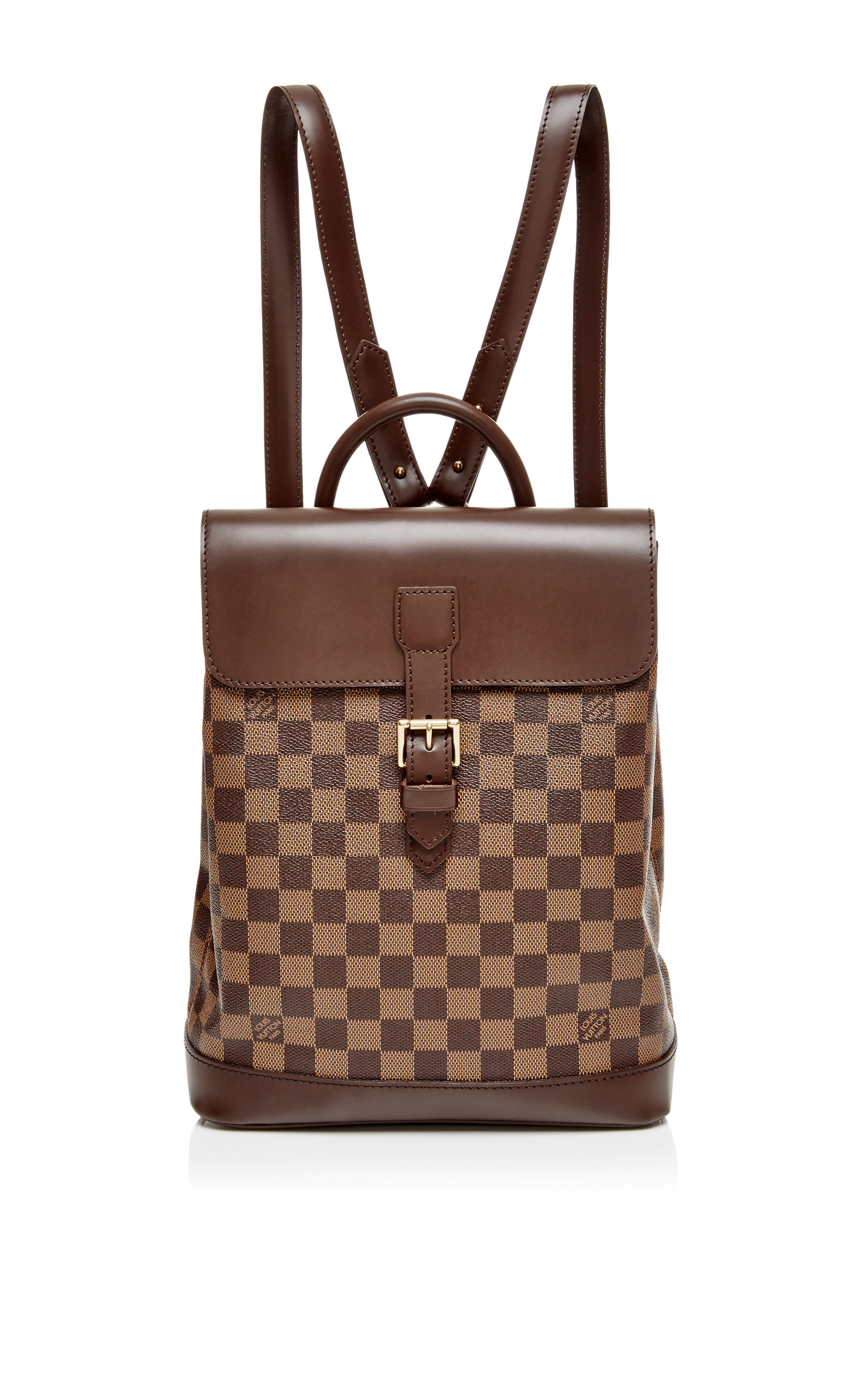 aedae71eb54f ... AroundVintage Louis Vuitton Damier Ebene Soho Backpack. CLOSE. Loading