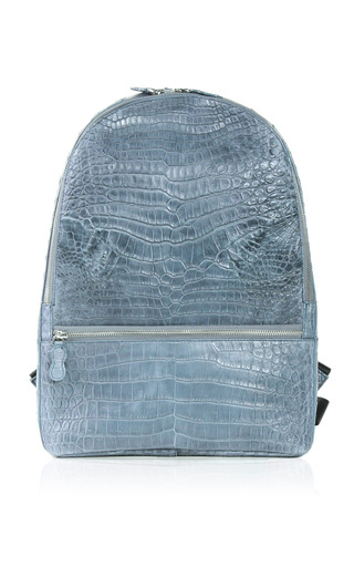 Medium celestina blue samson backpack in blue jean