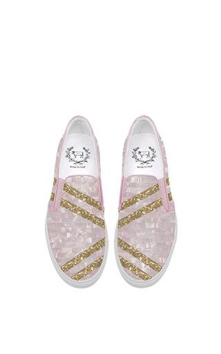 Medium del toro pink del toro x edie parker slip on pink glitter sneaker