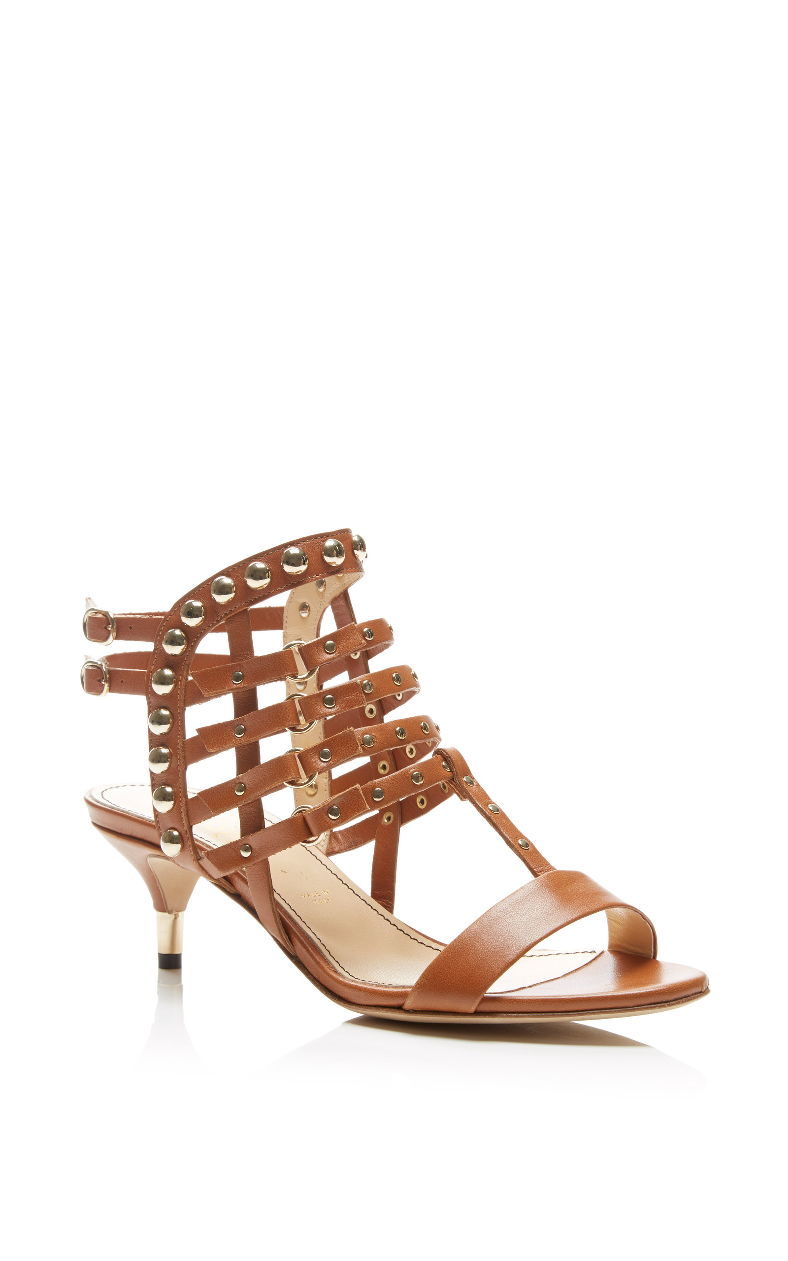 360d3addc8d Jerome C. RousseauCamden Kitten Heel Sandal In Tan. CLOSE. Loading. Loading