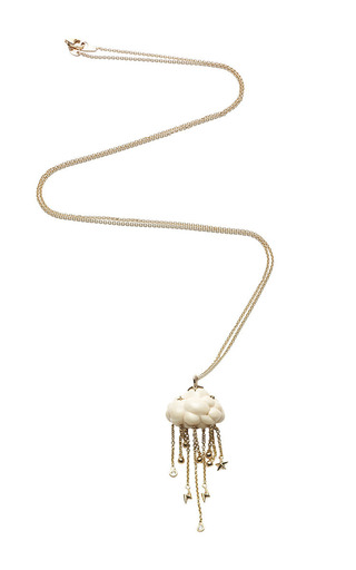 Medium bibi van der velden white mammoth cloud pendant
